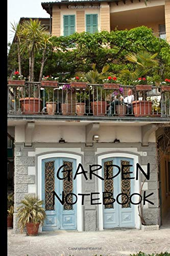 Garden Notebook: Writing 120 pages  Journal -  Small Lined  (6