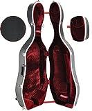 Steinbach 1/2 ABS boîtier violoncelle avec roues noires