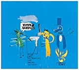 Artopweb Basquiat - The Dingoes Thet Park Their Brains with Their Gum (Paneele 100x87 cm)