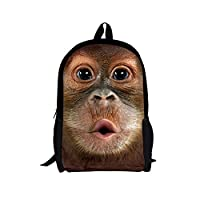 CHAQLIN Animal School Bags for Teenage Boys Girls Youth Animal Backpacks
