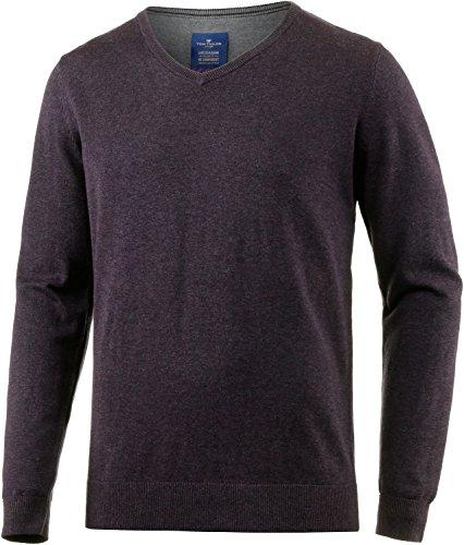 tom-tailor-mens-basic-v-neck-sweater-men-bordeaux-m
