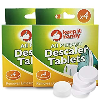 8pk Kettle Descalers by Keep It Handy | All Purpose Descaler | Coffee Machine Descalers That Deals with Limescale, Rust & Calcium