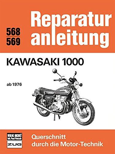 Kawasaki 1000 ab 1976 (Reparaturanleitungen)