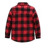 flanellhemd rot schwarz kariert Vergleich