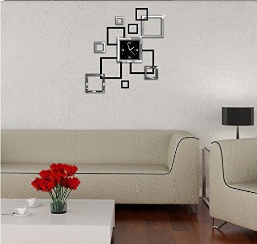 Lifeup orologio da parete moderni design silenzio arte - Adesivi da parete camera da letto ...