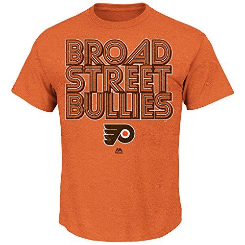 Majestic NHL T-Shirt Philadelphia Flyers Sudden Death