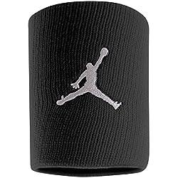 Nike Jordan Wristband Muñequera Baloncesto Negro BK/WH