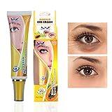 Pretty Cowry Moisturizing Fruit Augencreme Behandlung für trockene, empfindliche Haut und feine Linien mit natürlichen Früchten & Beeren Infundiert für eine jugendlichere Augenpartie, gelb