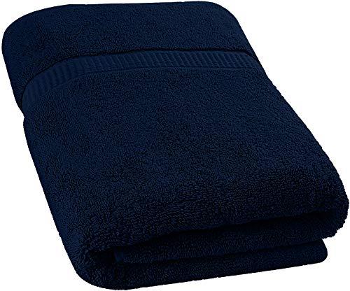 Utopia Towels - Badetuch groß aus Baumwolle 600 g/m² - Duschtuch, 89 x 178 cm (Marine Blau)