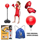 Kids/Junior/Children Free Standing Punch Bag Speed Ball Set + Gloves Boxing Toy