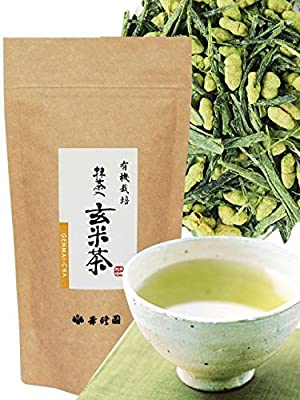 Kosyuen - Genmaicha bio - thé japonais au riz soufflé - vrac - 120g