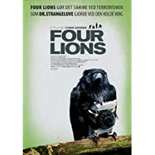 Four Lions Poster (11 x 17 Inches - 28cm x 44cm) (2010) Danish Style A