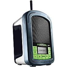 Festool BR 10DAB + Notebook mehrfarbig–Radio (tragbar, DAB +, FM, 87,5–108MHz, LED, Batterie/Akku)