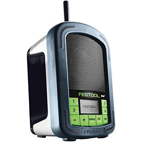 Festool BR 10DAB + Notebook mehrfarbig-Radio (tragbar, DAB +, FM, 87,5-108MHz, LED, Batterie/Akku)