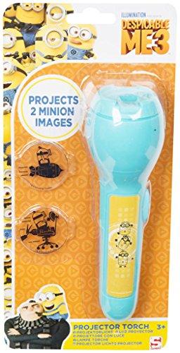 Kinder lizenzierte LED-Projektor-Taschenlampe Paw Patrol, Spiderman, Disney Dory, Nachtlicht, Geschenk ab 3 Jahren Despicable Me 3 Projector ()