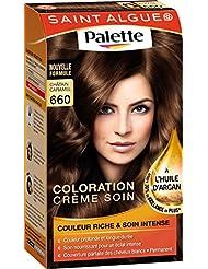 Saint Algue Palette Coloration Permanente Glossy Pralinés Châtain Caramel 660