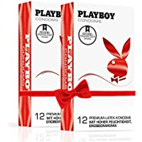PLAYBOY CONDOMS (2 x 12 Kondome) preisvergleich bei billige-tabletten.eu