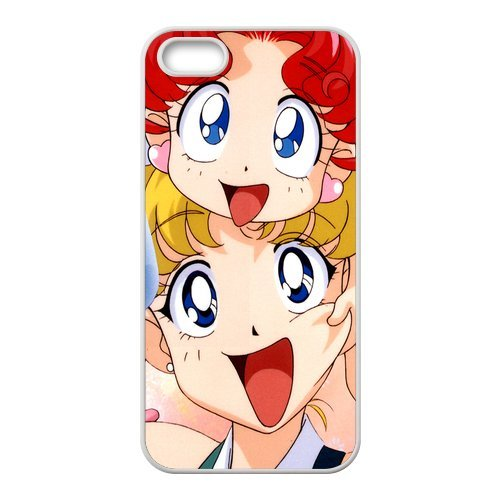iPhone 5/iPhone 5S Case Coque, Screen Protector pour iPhone 55S, Sailor Moon Designs iPhone 5S Case, iPhone 5/iPhone 5S Coque de protection Case