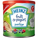 Heinz Fruit & Yogurt Porridge 4 + Months 240g