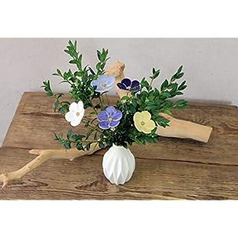 "Blume, Keramik, Blumenstrauß"" Meeresbriese"", 5 Stück"