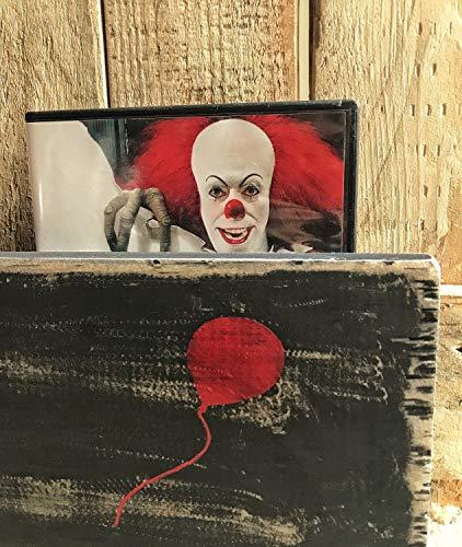 he Clown Horror Decor Stephen King IT The Movie Killer Clown Losers Club Stephen King IT Film Horror Dekoration Halloween Holzschild ()
