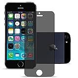Panzerglas für Apple iPhone 5 / 5S / SE Display Schutzfolie Echt Glas 9H Silverback - Privacy Transparent