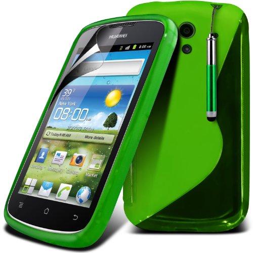 (Verde) della copertura della cassa Hydro Wave Design Gel Huawei