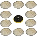 10 peaux de polissage + disque de polissage pour machine à polir .