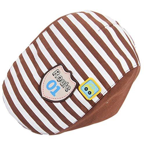 Kids Süß Sweet Frühling Herbst Baumwolle Berets Baskenmütze Schirmmütze Hüte Mütze Kappe Hut Cap (Khaki) (Costume Beret)