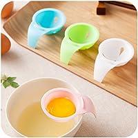 housesweet 2Pcs Round Egg Rings Pancake Mold Ring Handles Nonstick Fried Frying Omelette
