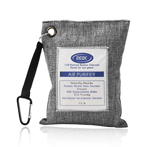 treiniger, Deodorant Bambuskohle Entfeuchtung Sterilisation lufterfrischer 100% Bambuskohle Geeignet für Wohnzimmer Auto Badezimmer Schränke Haustierbereiche (230G*1) ()