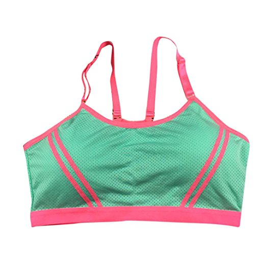 BZLine® Coton Bra / Soutien-gorge de Sport - Yoga - Taille unique - Femme N