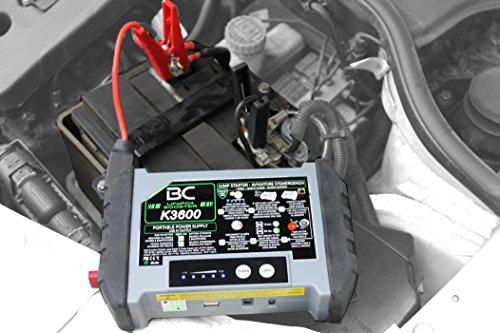 515ekHaE0dL - BC Booster K3600-12V 1200A - Arrancador de Emergencia para Coche y Moto + Batería Portátil con USB 20000 mAh para Smartphones y Tabletas + Antorcha LED SOS