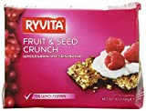 Ryvita Crisp Bread Crispbread, Fruit & Crunch 198 gm
