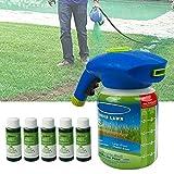 Cutito Pulvérisateur de graines de Gazon Liquide Système de semences Hydrofuge, Mousse Entretien de l'herbe