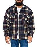 Fashion Herren Thermohemd Jacke ID472, Größe:3XL;Farbe:Beige