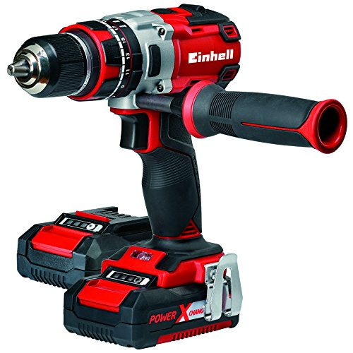 Einhell Expert Taladro percutor 18V sin cable brushless Power-X-Change (TE-CD 18...