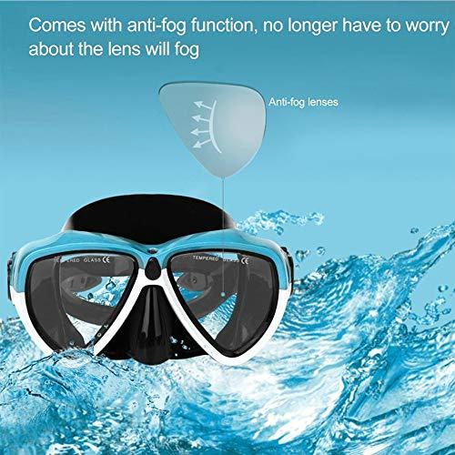 Erwachsene Scuba Schnorchel Tauchen Maske Anti-Fog Underwater Scuba Schnorcheln Maske