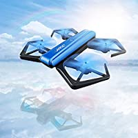 ECLEAR RC Quadcopter Mini Drone, 4 Channel 2.4GHz 6-Axis Gyro Helicopter with 720P HD Camera LED Lights WiFi FPV Headless Mode 3D Roll Foldable Toys For Adult Kids Aerial Photography Racing, by - Compare prices on radiocontrollers.eu