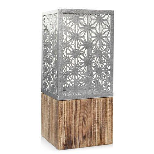 YANKEE CANDLE Costal Sands matt Metall große Laterne Jar Kerzenhalter -