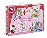 Clementoni 13776 - Edukit 4 in 1 Hello Kitty