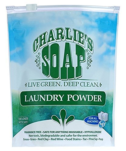 Charlies Seife Laundry Powder 40 Oz (Baby Powder-seife)