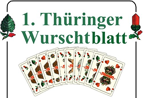 (Spielkartenfabrik Altenburg GmbH (ASS) Thüringer Wurschtblatt)