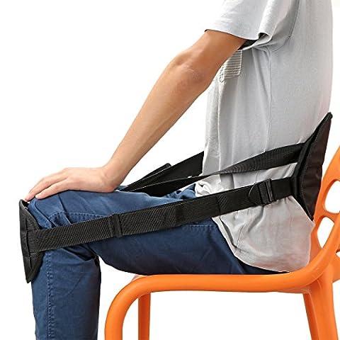 Taille Beschützer Haltung Korrektor Rücken Stütz Haltung Gürtel Sitting Haltung Korrektur Verstellbarer Gürtel für Rückenschmerzen
