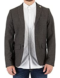 Scotch & Soda Herren Single Breasted Blazer, Grau