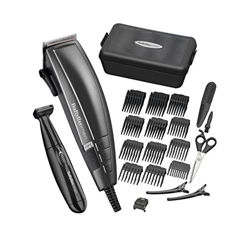 BaByliss Pro Hair Cutting Kit for Men - Black