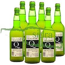 Caja de 6 botellas de sidra Llagar de Quintana