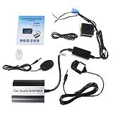 Runrain Manos Libres Coche Bluetooth Kits MP3 AUX Adaptador Interfaz para Renault Megane Clio