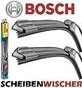 BOSCH AeroTwin Set 550 / 550 mm Scheibenwischer Flachbalkenwischer Wischerblatt Scheibenwischerblatt Frontscheibenwischer 2mmService