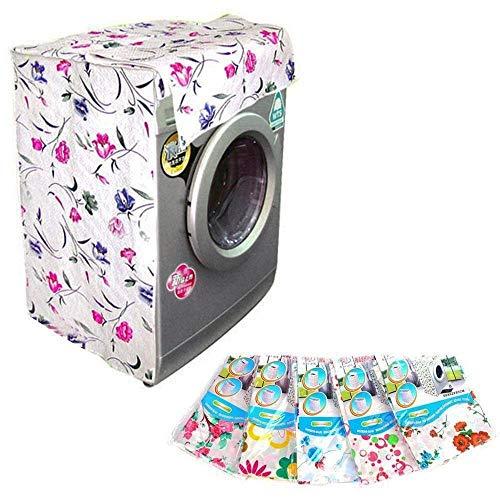 Trade shop traesio 2 copri lavatrice universale in peva 58x62x85 varie fantasie telo coprilavatrice